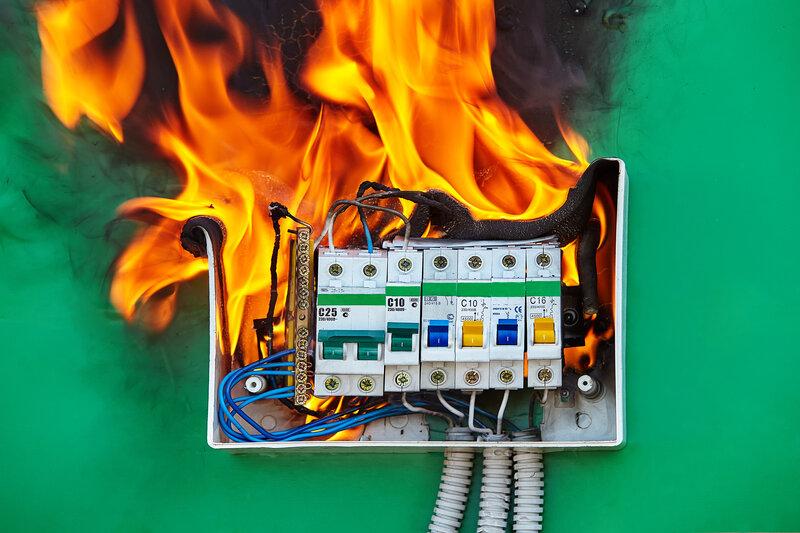 Home Inspection Kansas City Fire Hazard